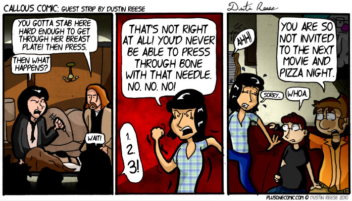 Guest Comic Strip by Dustin Reese