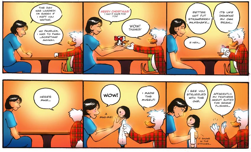 Guest Holiday Comic Strip by Joanah Tinio Calingo