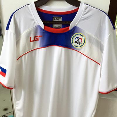 White 2015 Azkals kit Philippine National Football Team 4841244a2